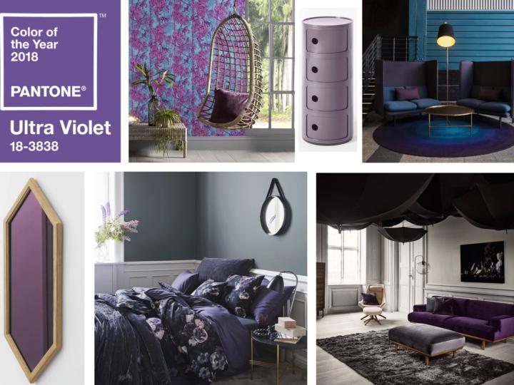 Découvrez la couleur Pantone de l'année :L'Ultra Violet